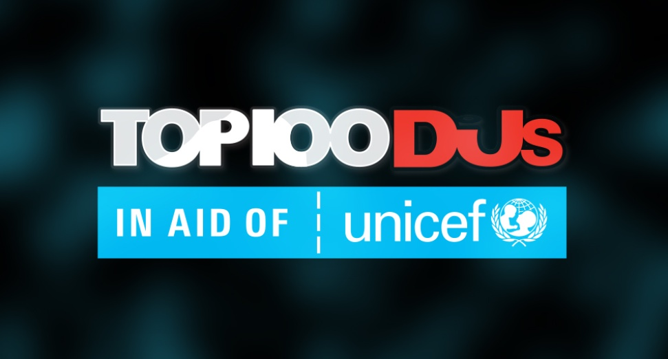 Top 100 DJs 2019 in aid of Uncief - Official Logo