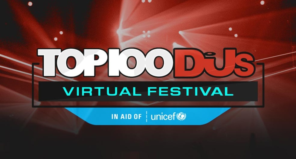 Top 100 Djs Virtual festival - Website Hero