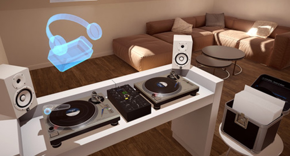 You can now mix on vinyl using virtual reality