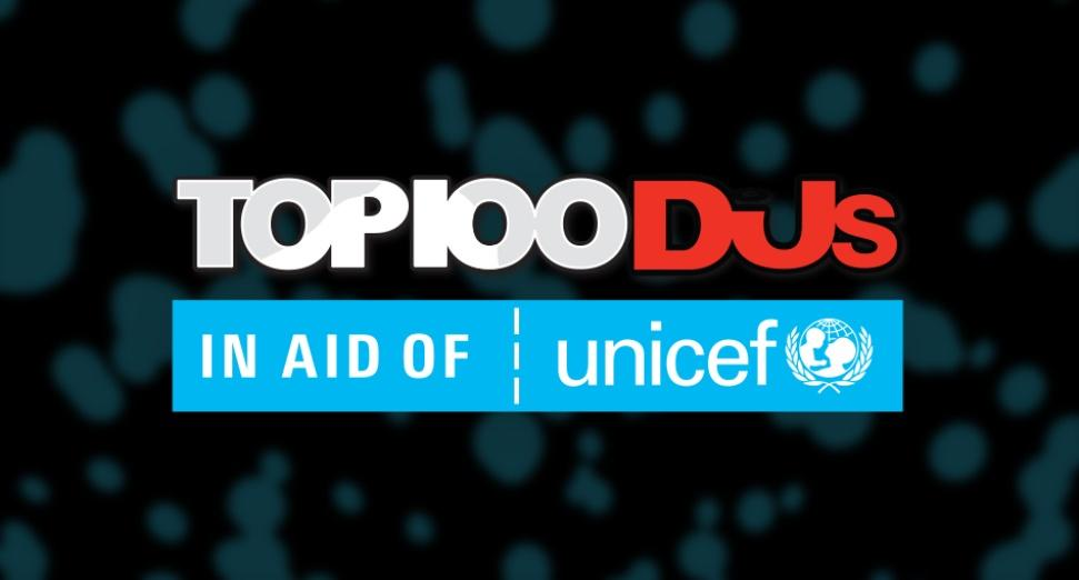 Top 100 DJs 2018 in aid of Unicef - voting is now open