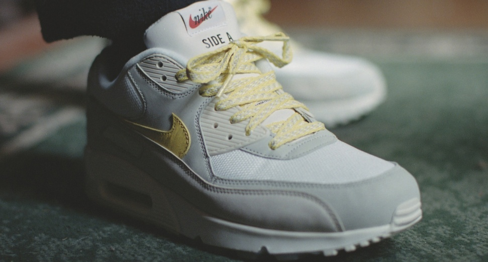 New Air Max 90 trainer inspired by sampling