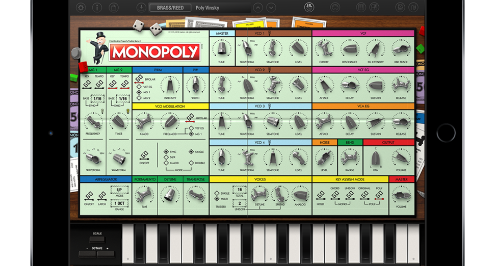 Korg release Monopoly version of their Mono/Poly app