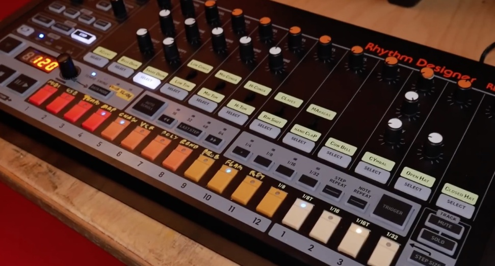 Behringer unveil their 808 clone