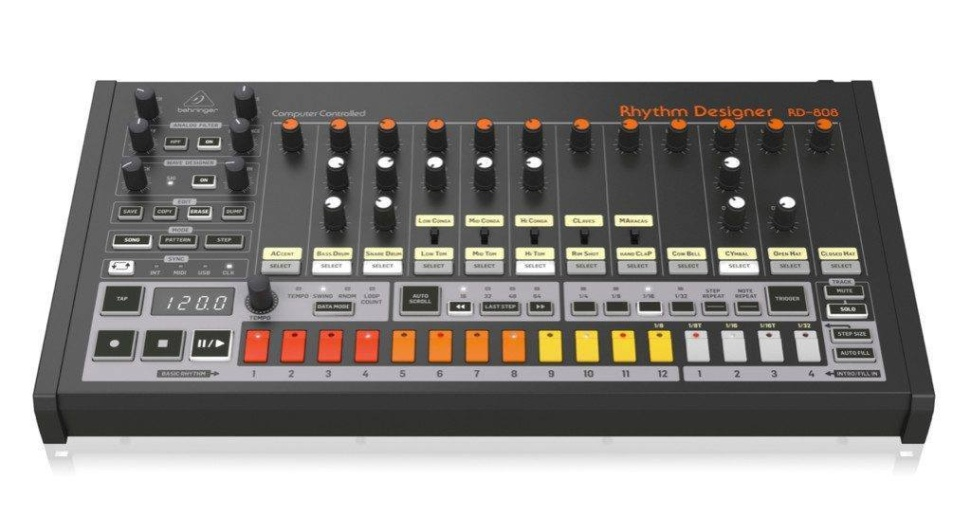 behringer RD-808 drum machine