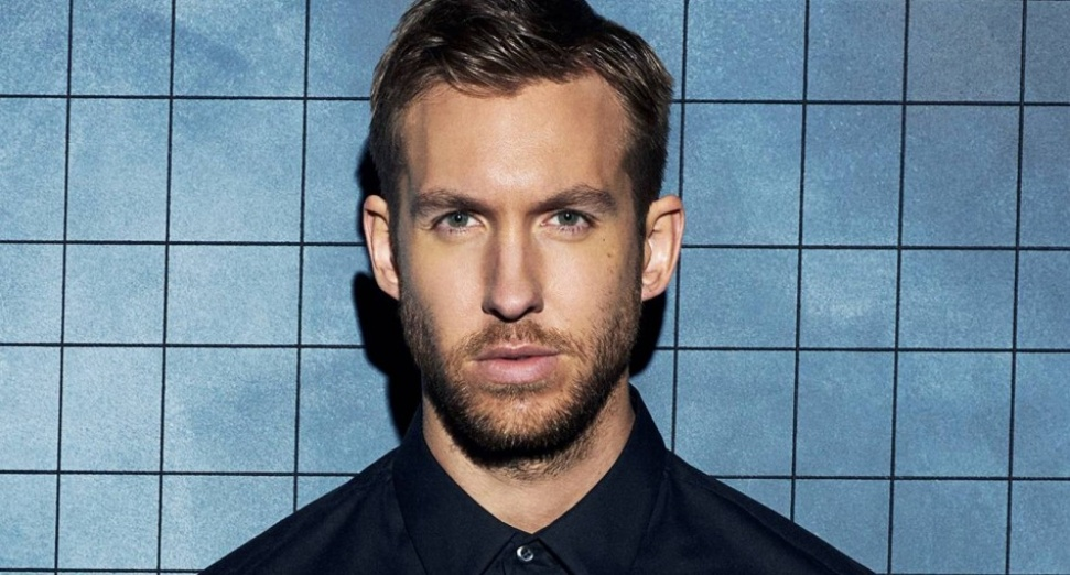 Calvin Harris' picture now hangs in the Scottish National Portrait Gallery