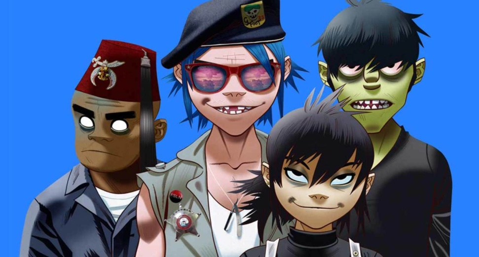 gorillaz-now now jack black DJ Mag