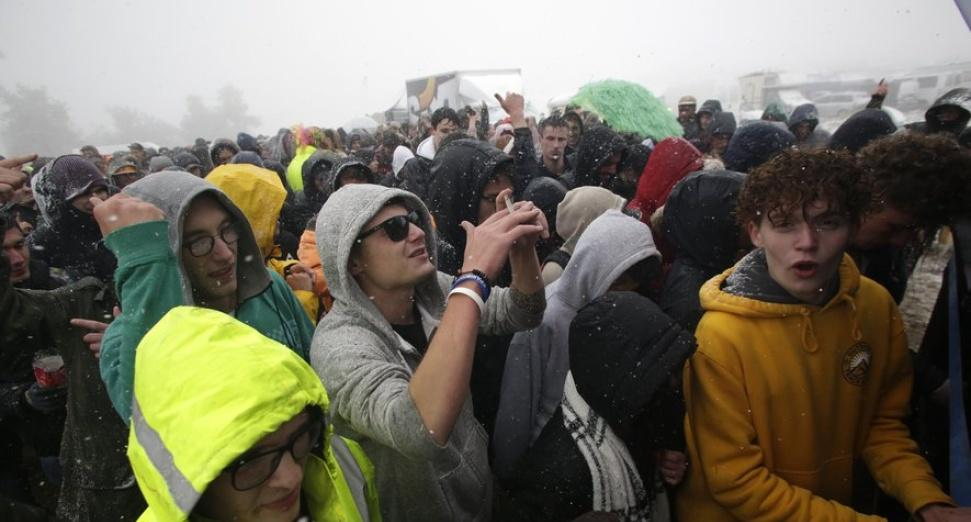 Teknival hypothermia french rave