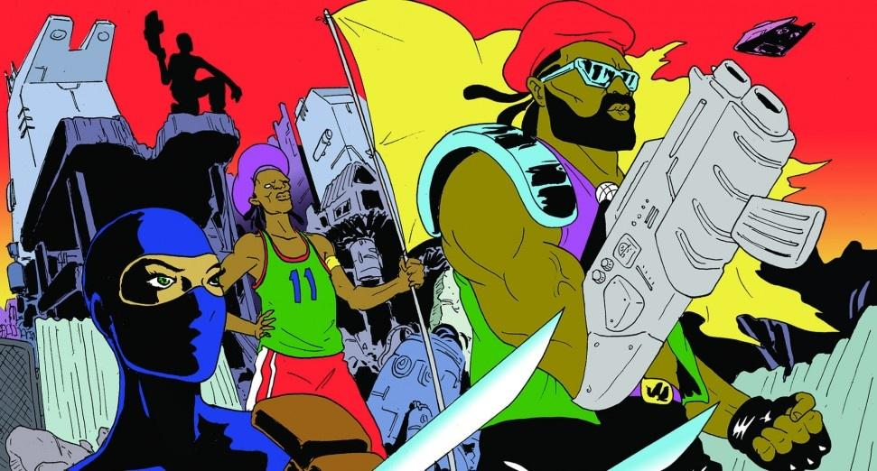 Major Lazer animated series YouTube