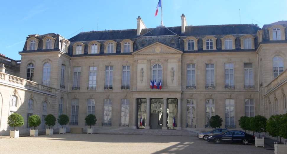 There's a rave at the French presidential palace happening this week