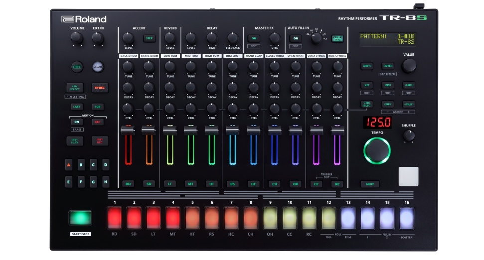 Roland Releases New Drum Machine TR8S
