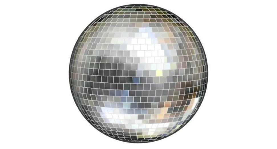 Disco ball emoji glitterbox