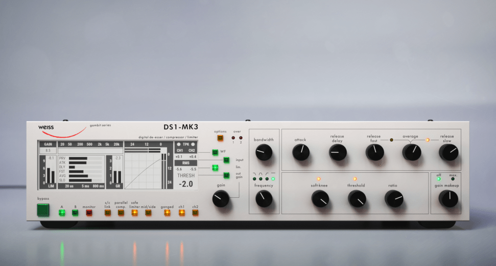 Softube and Weiss Announce DS-1 Plugin