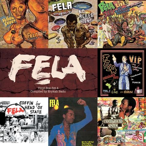 Fela Kuti Box Set #4: Curated by Erykah Badu